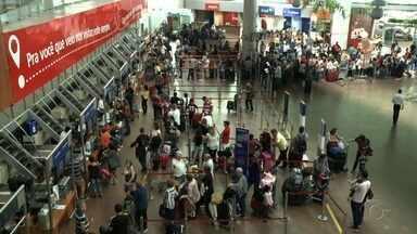 Vários voos foram cancelados no Aeroporto de Maceió devido a mobilização dos caminhoneiros - De acordo com a Infraero, combustível no aeroporto acabou na sexta-feira (25).
