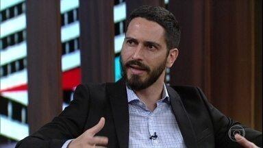 Ronaldo Lemos fala sobre uso de dados de usuários de internet para campanhas eleitorais - Alê Youssef define o 'novo poder', representado pelo alcance das redes sociais e do uso de dados como capital de negócios