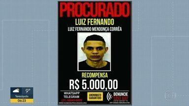 Disque-denúncia lança cartaz de suspeito de assassinar de PM - O subtenente Almir Tadeu Alves de Almeida foi morto em abril de 2017 em Vila Isabel durante um assalto.