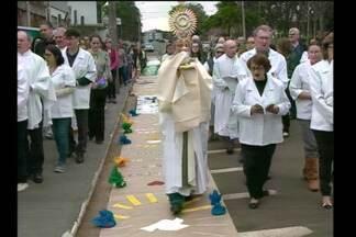 Celebrações de Corpus Christi em Santa Rosa - A programação segue durante a tarde desta quinta-feira (31).