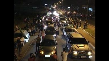 Começa a desmobilização das manifestações de caminhoneiros na Região Central - Ainda existem 3 pontos de protestos de caminhoneiros em rodovias da Região Central do estado.
