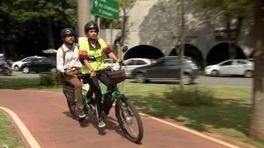 Startups criam estação de serviço para bikes e táxi sobre duas rodas - A mobilidade urbana tem movimentado negócios para startups.
