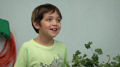 Temperos Mágicos - A família Tomatini é especialista em culinária e um molho de tomate delicioso mergulha o prédio em uma nova investigação. Capim e Mila escolhem o novo detetive da capa verde.