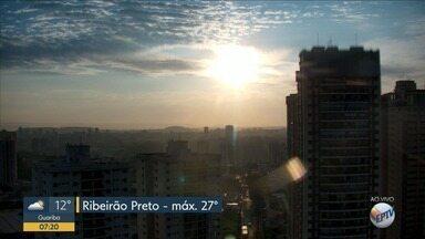 Veja a previsão do tempo para esta terça-feira (5) em Ribeirão Preto - Hoje tem possibilidade de chuva fraca em alguns pontos da cidade.