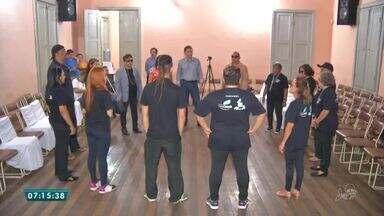 Projeto incentiva atores cegos a exercitarem suas habilidades - Saiba mais em g1.com.br/ce