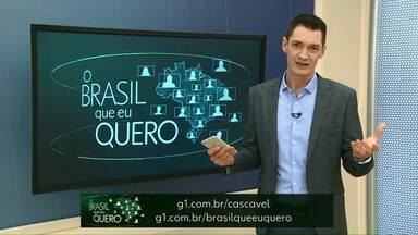 Que Brasil você espera para o futuro? - Moradores de Maripá, a cidade das orquídeas, ainda não tem representante na campanha.