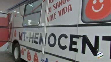 Hemobus vai a Centro Político para coletar sangue - veja calendário - Hemobus vai a Centro Político para coletar sangue - veja calendário.
