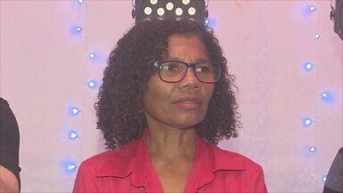 Joaquina Lino anuncia pré-candidatura ao Senado Federal pelo PCB - Confirmação foi feita nesta segunda-feira (4), em um salão de eventos na Zona Norte de Macapá. Joaquina é funcionária pública e militante do movimento feminista no Amapá.