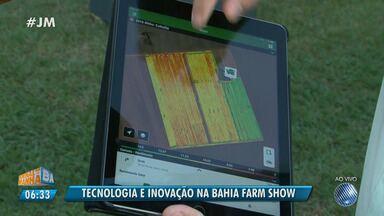 Inovação na Bahia Farm Show: agricultores já podem monitorar as lavouras por aplicativos - A feira vai até sábado (9); confira os detalhes.