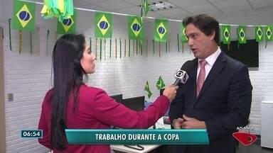 Advogado trabalhista do ES fala sobre as regras de trabalho durante a Copa do Mundo - Jogos começam na semana que vem.