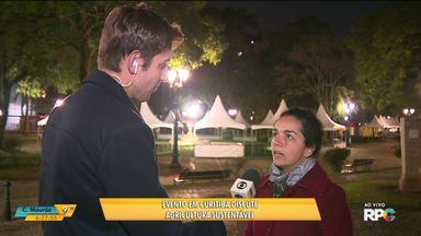 Evento em Curitiba discute agricultura sustentável - O evento sobre agroecologia vai ser na praça Santos Andrade.