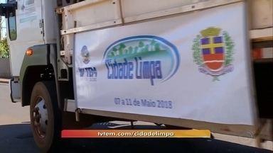 Pongaí recebe Projeto Cidade Limpa nesta semana - Iniciativa da TV TEM em parceria com as prefeituras, o projeto Cidade Limpa percorre os bairros de Pongaí nesta semana.