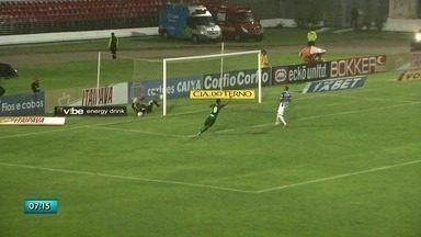Em casa, CSA é derrotado pelo Guarani - Jogo terminou 2 a 1.