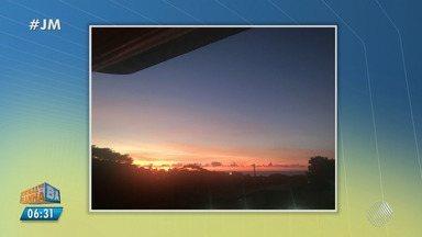 Confira a previsão do tempo desta sexta-feira (8); veja também as fotos do amanhecer - Saiba como fica o tempo no estado.