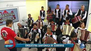 São João: Orquestra Sanfônica de Serrinha é a convidada no estúdio do JM - Conheça o trabalho do grupo.