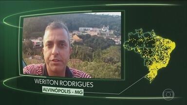 Vídeos de Alvinópolis, Palmeirina, Cotia, São Bento e Caxias do Sul - Moradores de Alvinópolis (MG), Palmeirina (PE), Cotia (SP), São Bento (MA) e Caxias do Sul (RS) dizem o que querem para o futuro.