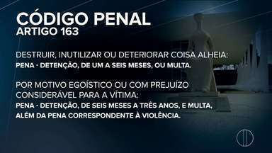 Vandalismo em ônibus urbanos em Petrópolis, RJ, prejudica os passageiros - Assista a seguir.