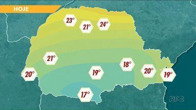 Temperaturas passam de 20 graus na região Noroeste no fim de semana - Mas as manhãs continuam frias