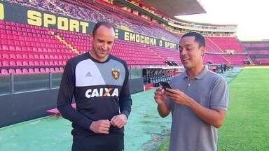 Magrão testa conhecimentos no quiz dos dez anos do título da Copa do Brasil 2008 - Magrão testa conhecimentos no quiz dos dez anos do título da Copa do Brasil 2008
