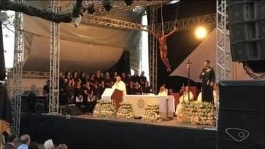 Missa em homenagem a São José de Anchieta é celebrada no Sul do ES - Foi um momento especial de fé e devoção.