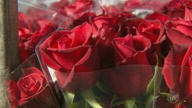 Comércio prevê crescimento nas vendas de flores durante Dia dos Namorados - Aumento pode chegar a 10%, no comparativo com período de 2017.