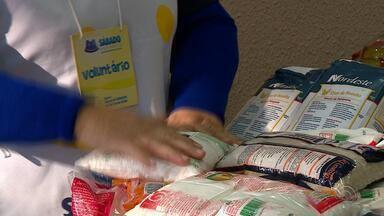 Banco de Alimentos pede doações para ajudar entidades durante o inverno - Por conta da crise, as doações diminuíram nos último anos.