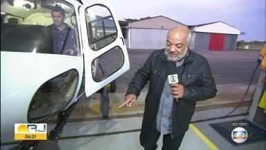 Genilson Araújo mostra novo Globocop - Helicóptero conta agora com mais câmeras e recursos.