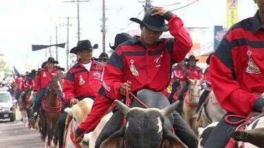 Cavalgada completa 30 anos e atrai milhares de pessoas em Araguaína - Cavalgada completa 30 anos e atrai milhares de pessoas em Araguaína