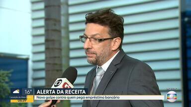 Novo golpe é aplicado em nome da Receita Federal - Entrevista ao vivo com o superintendente da Receita Federal em Minas Gerais, Mário José Dehon.