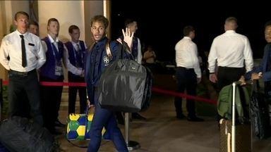 Copa do Mundo começa em três dias e a Seleção Brasileira já está na Rússia para disputa - Conheça a casa da Seleção na cidade de Sochi.