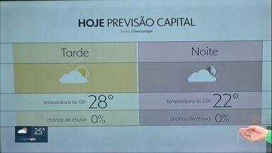 Semana começa quente e sem chuva na Grande São Paulo - A partir de quarta-feira, volta a chover com mais intensidade e a temperatura cai bastante.