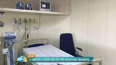 Novos leitos de UTI são inaugurados no Hospital Infantil, em Vitória - No total, foram entregues 26 leitos.