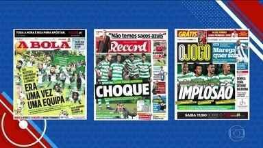Crise no Sporting afeta jogadores da seleção de Portugal - Quatro jogadores rescindiram com o clube português às vésperas da Copa do Mundo
