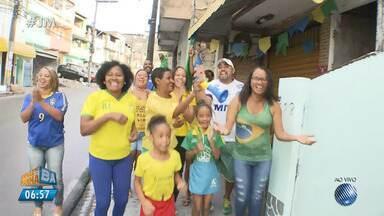 'Torcidaxé': dona de lanchonete cria decoração especial para a Copa do Mundo - Confira as imagens.