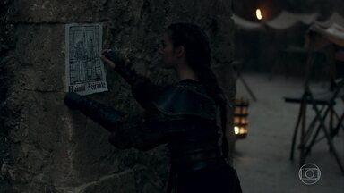 Selena encontra mais um desenho das paredes do reino - As difamações contra Amália continuam