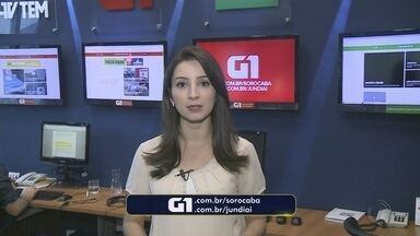 Mayara Corrêa traz os destaques do G1 Sorocaba e Jundiaí desta quarta-feira - A repórter Mayara Corrêa traz os destaques do G1 Sorocaba e Jundiaí desta quarta-feira (13).