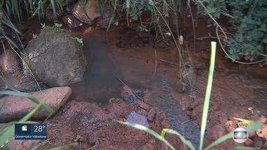 MG Móvel mostra problemas em rede de esgoto de Mário Campos, na Grande BH - A população sofre com vazamentos e mau cheiro. A prefeitura da cidade se comprometeu a resolver a situação.