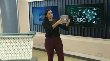 Participe da campanha 'Que Brasil você quer para o futuro' - Depois é só enviar o vídeo para o g1.com.br/brasilqueeuquero