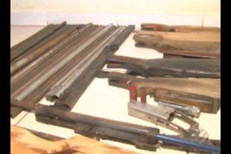 Polícia apreende armas e materiais usados para fabricar armamentos em Anapu - Apreensão aconteceu durante uma operação que identificou uma fábrica clandestina na cidade