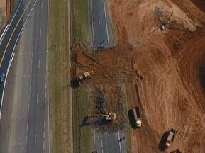 BR-050 tem desvios de tráfego para construção de trevo entre Uberaba e Uberlândia - Trevo está sendo construído nas redondezas do km 116. Sinalização foi implantada para orientar os motoristas sobre as obras.