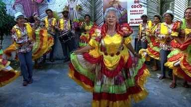 Samba de Côco é uma das grandes tradições do nosso Estado - Grupo da Barra dos Coqueiros é tradição no quesito.