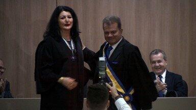 11 pessoas receberam medalhas de Honra ao Mérito no TRE de Sergipe - Evento foi realizado nesta terça-feira (12).