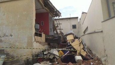 Três moradores feridos após explosão em casa em Campinas estão internados - A causa foi um vazamento de gás dentro da residência no bairro Jardim Santa Lúcia.