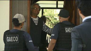 Ex-diretor da Assembleia Legislativa do PR é condenado a 255 anos de prisão - Abib Miguel, o Bibinho, já estava preso em Curitiba. Ele foi condenado por lavagem de dinheiro.