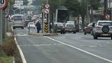 Obras na avenida Morangueira ficam prontas - Abrigos de ônibus ainda serão substituídos