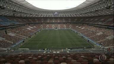 Cerimônia de abertura da Copa do Mundo da Rússia acontece nesta quinta-feira (14) - Os donos da casa jogam seu futuro na competição diante da Arábia Saudita.