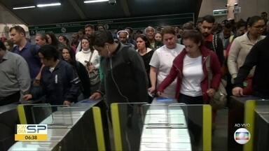 Falha na Linha Verde do Metrô - Trens não estavam circulando entre as estações Tamanduateí e Vila Prudente
