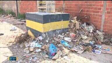 Descarte inadequado de lixo em Teresina causa problemas - Descarte inadequado de lixo em Teresina causa problemas