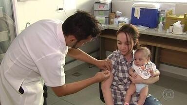 Ministério da Saúde prorroga mais uma vez a campanha de vacinação contra a gripe - Governo não conseguiu atingir a meta de imunização e quase 12 milhões de pessoas que integram o grupo de risco ainda têm que ser vacinadas. Campanha nacional vai até o dia 22 de junho.
