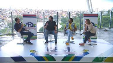 Especial do mundial: Compadre Washington, Camila Marinho e Faustão falam sobre a Copa - Veja o quarto episódio do programa especial.
